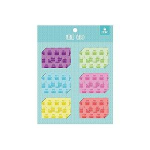 Mini Cartao Basic Card Festa - Otima