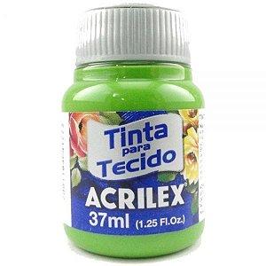 Tinta Tecido Fosca Verde Abacate 37ml - Acrilex