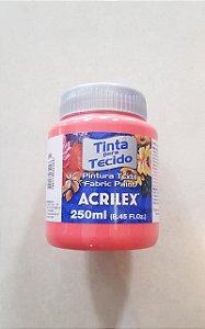 Tinta Tecido Coral 250ml - Acrilex