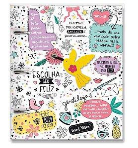 Caderno argolado Beija-flor-Fina Ideia