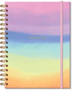 Caderno colegial 96 fls. Tie Dye-Fina Ideia