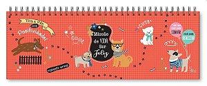 Planner Organizador semanal Cachorro amigo-Fina Ideia