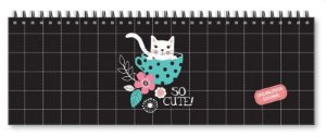 Planner Organizador semanal Gato-Fina Ideia