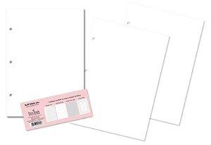 Refil Caderno Argolado Miolo Liso 30 Folhas - Fina Ideia