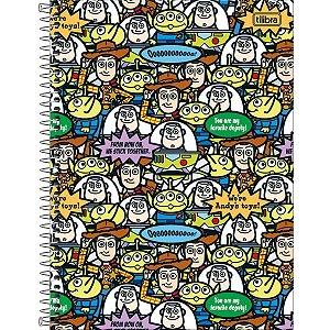 Caderno Universitário 1 Matéria 80 Folhas Toy Stoy Ligh-Tilibra
