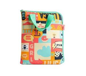 Capa De Tablet Com Alça Lilica Fun Colors - Uatt