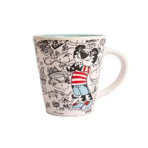 Caneca Where´s Tigor - Uatt