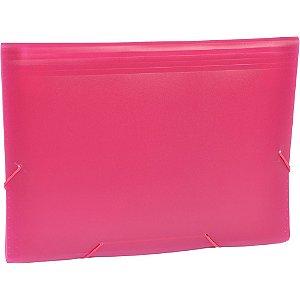Pasta Sanfonada A4 Poa 12 Divisórias Pink - ACP