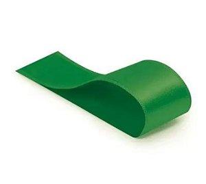 Fita Cetim Liso Verde Bandeira-Cromus