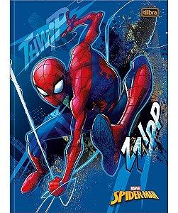 Caderno Universitário Brochura  80 folhas Spider Man - Tilibra