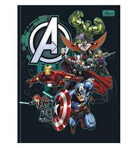 Caderno Universitário Brochura Avengers 80 Folhas - Tilibra