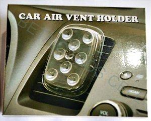 Suporte veicular para celular Ar Condicionado Carro com ventosa 81789