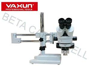 Microscopio Trinocular Yaxun Ak31 AK 31 Oculares C/ Borrachas