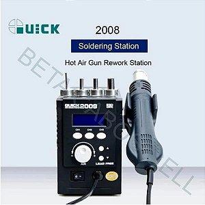 Estação Retrabalho Solda Profissional Sunshine Quick 2008 700w 220V