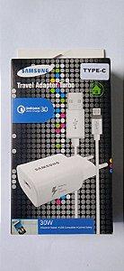 Carregador Qualcomm Travel Adapter quick charge 3.0 Type C