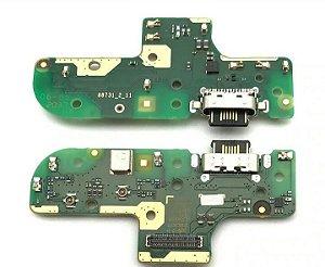 Conector De Carga Placa Dock Flex Usb para Motorola g9 Power