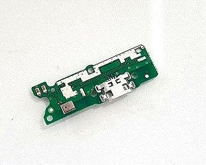 Conector De Carga Placa Dock Flex Usb para Motorola E6 Play