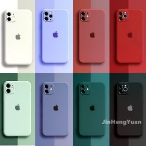 Capa Case Silicone Aveludado Iphone X Cores Sortidas