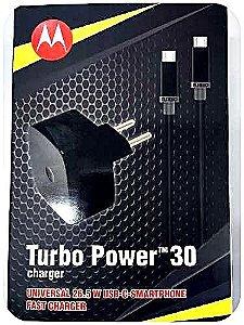 Carregador Motorola Turbo Power 30 Type C Charger