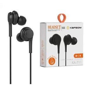 Fone Headset com Microfone P2 Kapbom KA 711 KA711