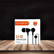 Fone De Ouvido Hmaston com Microfone Intra auricular Ej-32 EJ 32