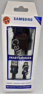Carregador Tomada SA. USB Charger V8 com Cabo