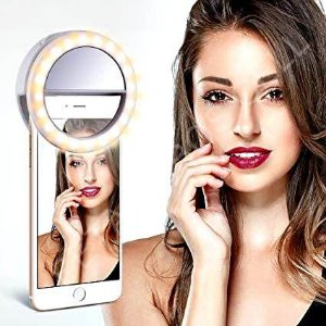 Luz De Selfie Ring Light Anel Led Flash Celular Tablet Iphone