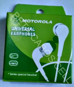 Fone P2 Atende Intra Auricular com CX Estilo Motorola