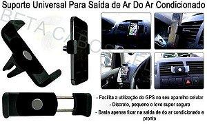 Suporte Celular Universal Veicular Ar Condicionado Carro Gps