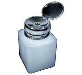Dispenser Pote Álcool Isopropílico, Fluxo E Líquidos Yx 40 Yx-40 120 Ml.