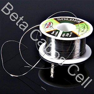 Fio Estanho Para Solda  Fio De Solda 0.3mm Super Fino Yaxun Rolo de 40g ORIGINAL