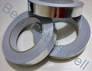 Fita de Alumínio Adesiva para Retrabalho 15mm 1,5cm Largura