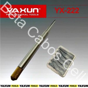 Espatula De Precisão Flexivel Yaxun Yx 222 YX-222 com 27 Pecas