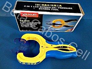 Alicate Pressão 2x1 Separar Lcd Touch Original Yaxun Yx-d02