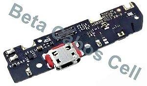 Placa Conector para Motorola G6 Play Xt1922