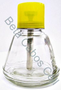 Dispenser de Vidro para Álcool ISOPROPÍLICO 150ML com Valvula DKT-18C
