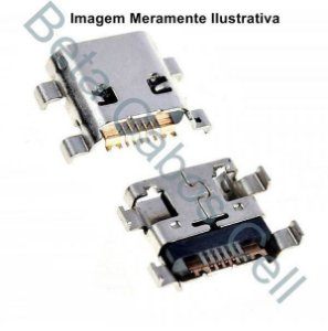 5 Pçs Conector Carga para Motorola G1 / E1