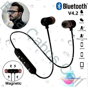 Fone De Ouvido Bluetooth Tipo JB. Magnetic Type
