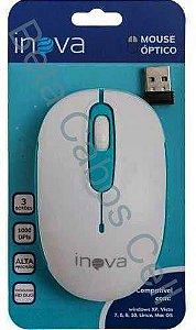 Mouse sem Fio Inova MOU-7039