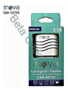 Fonte Parede Inova Car 2079D 2 Usb I***