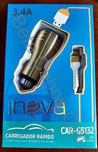 Fonte Veicular V8 com Cabo CAR G5132 2 USB I***