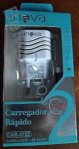 Carregador Parede V8 Inova CAR 372z 2 USB I***