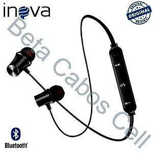Fone De Ouvido Bluetooth Sem Fio Inova Fon 2146d Super Bass I***