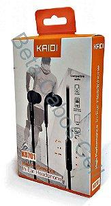 Fone De Ouvido Intra-auricular P2  Kaidi Kd 701 D***
