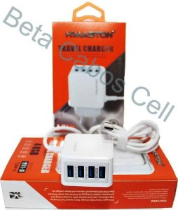 Carregador V8 Hmaston 4 USB Y11-1