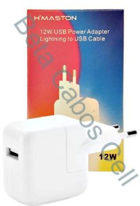 Fonte Adaptador Lightning iPhone HMaston 12W CB-06 D***