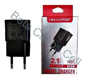 Fonte Tomada 1 USB 2.1A Hmaston F 001 D***
