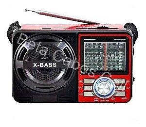 Radio Vintage Altomex A-1088 Retro Entrada Usb Sd Analógico FM - SW1-7 Receptor de 9  Bandas D***