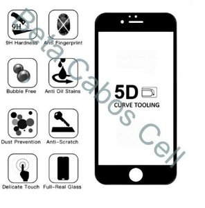 Pelicula 5D Preto para Motorola Moto G4 Plus