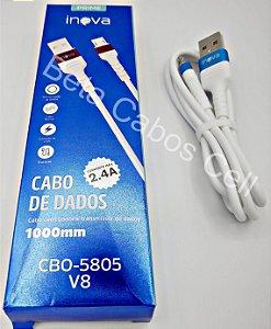 Cabo Prime Inova Carrega e Dados CBO 5805 V8 1 Metro